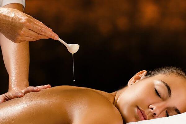 Olejová masáž